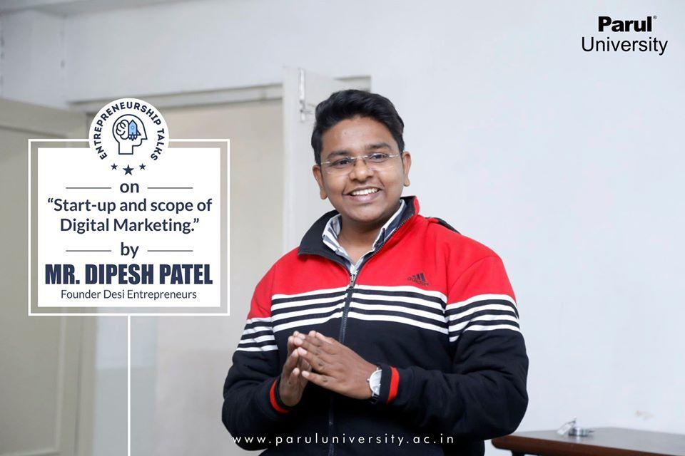 Digital marketing course in Parul University