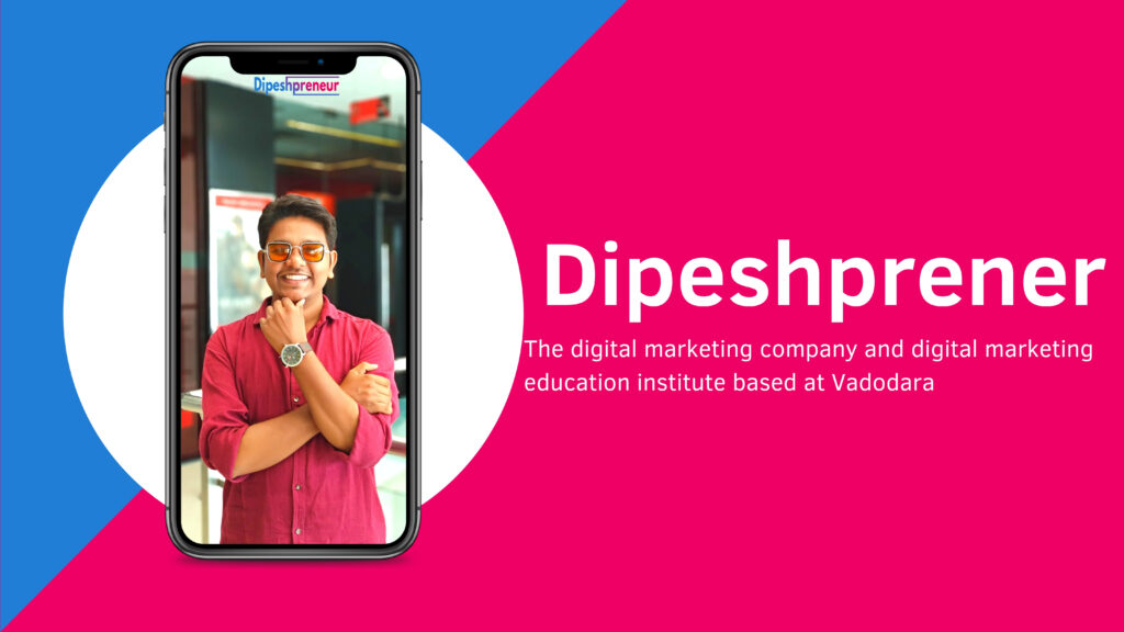 Dipeshprener - digital marketing course in vadodara